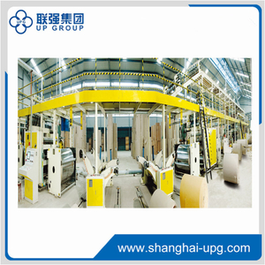 LQ150-1600 5-layer Corrugated Cardboard Production Line