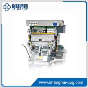 TYMC-1100/1200 Type PLC Control Foil Stamping Die Cutting Machine