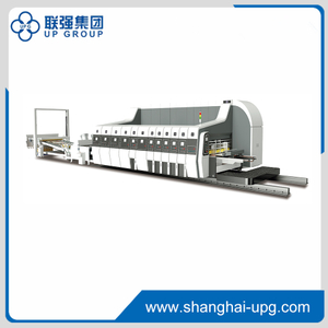 LQKM-1225 High Speed Flexo Printing Slotting Die-cutting Machine