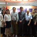 The leaders of Chinese Association of Printing and Printing Equipment Industry and Chinese Academy of Printing Science and Technology visit UP GROUP.