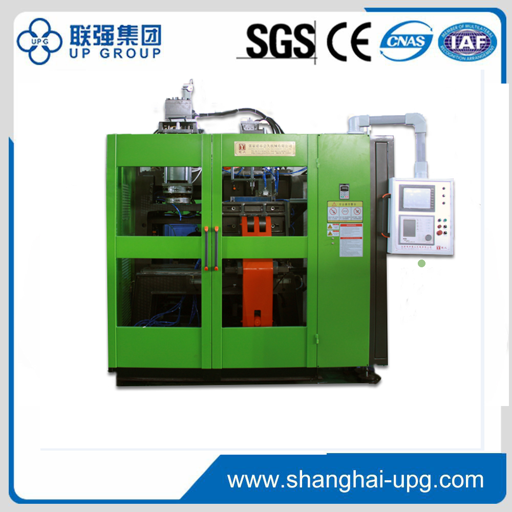 12 L single station twin head automatic blow molding machine