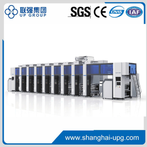 Electrical Line Shaft Rotogravure Printing Machine