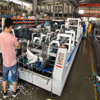 4/6 corner automatic folder gluer inspection